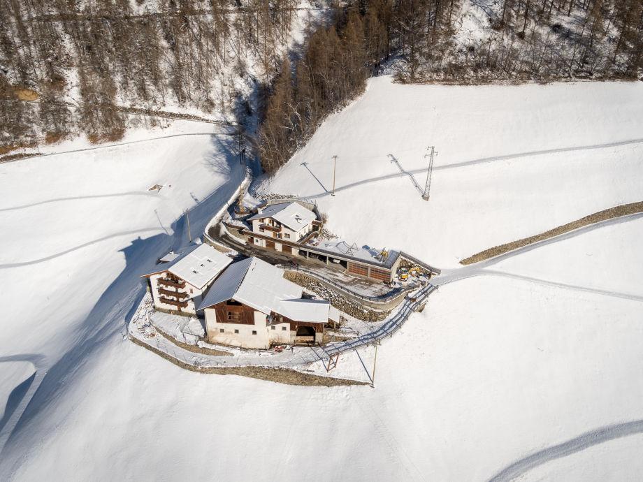 Außenaufnahme Alpenrose
