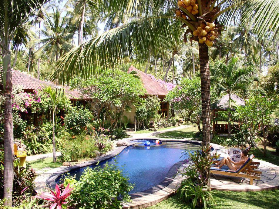 Entspannung pur in tropischer Natur