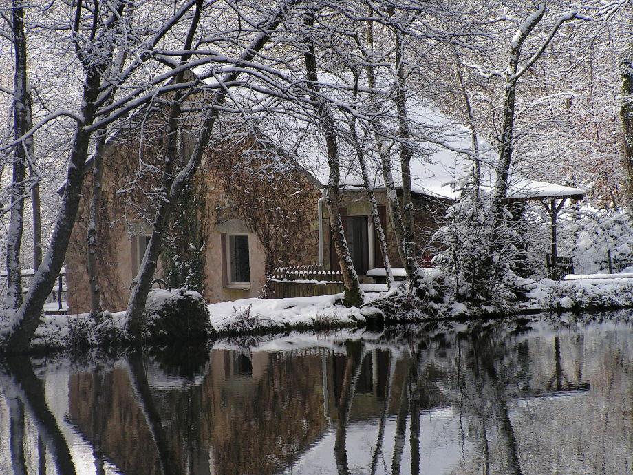 Außenaufnahme Maison L'Etang (ehemalige Mühle)
