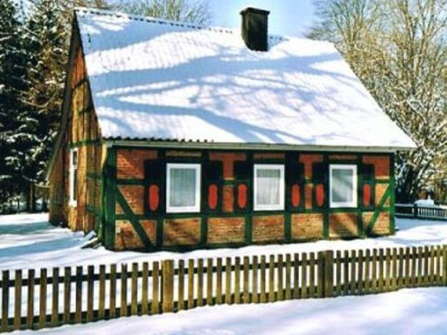 Haus 7 im Winter