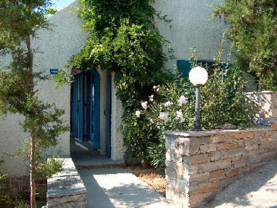 Eingang in die Landvilla