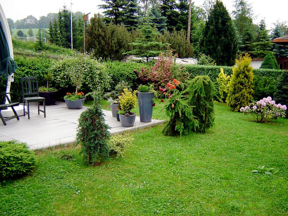 Die Ferienwohnung mit Garten