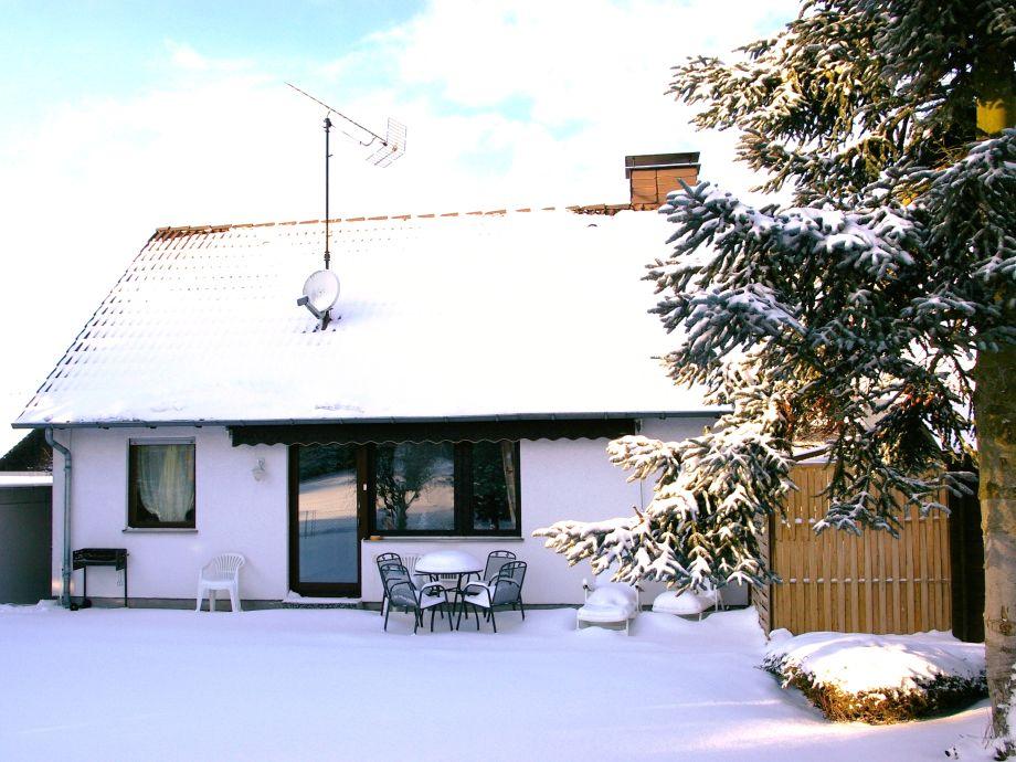 Ferienhaus Desiree im Winter