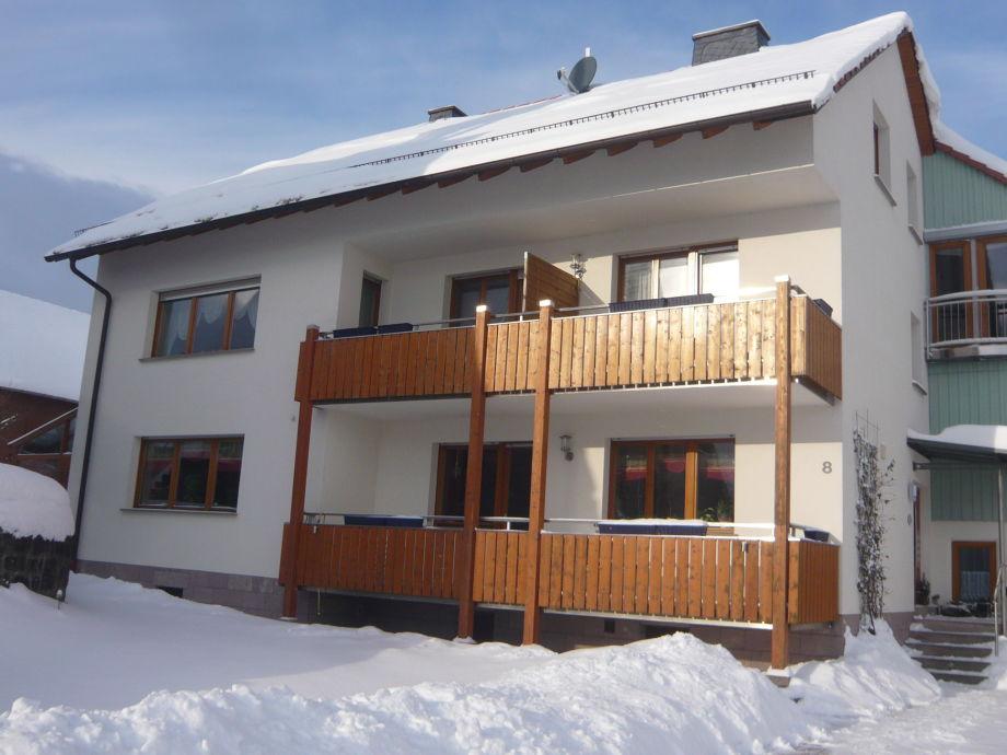 Haus Andrea im Winter