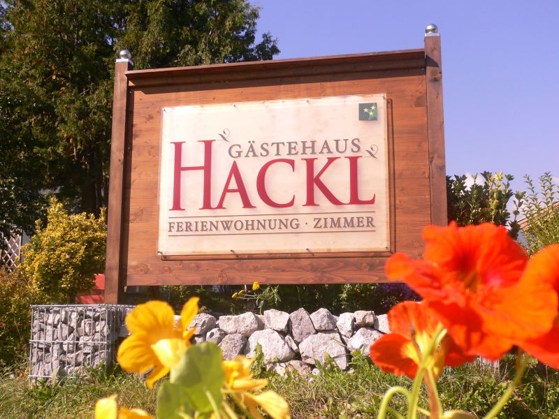 Ferienwohnung Gästehaus Hackl