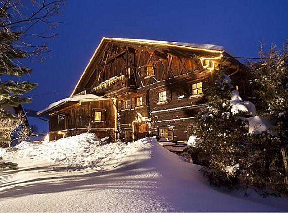 Ferienhaus Knor - Winter