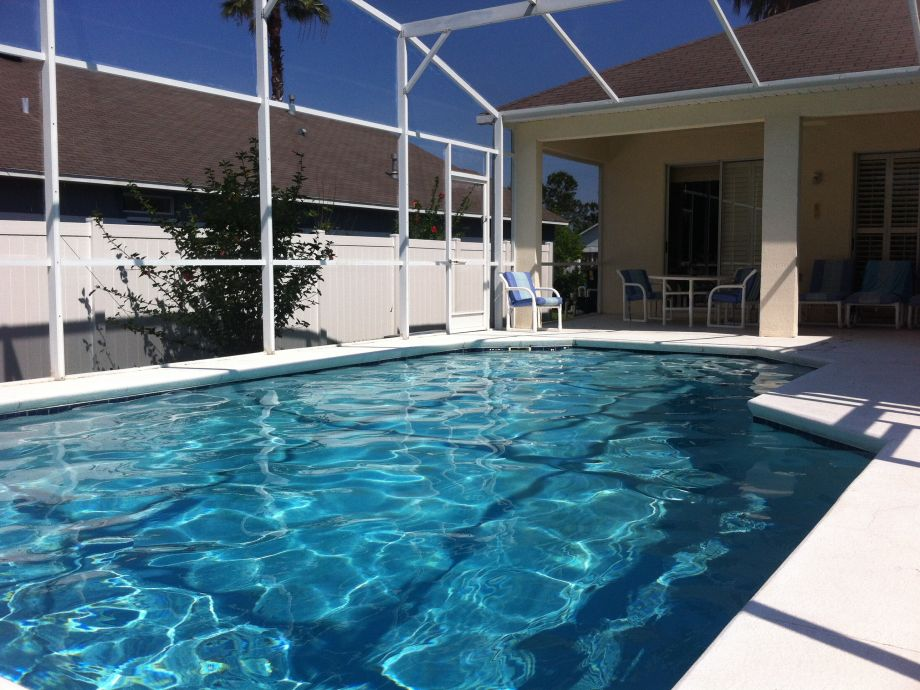 Villa awenasa in orlando florida orlando mr roy smart for Pool lanai cost