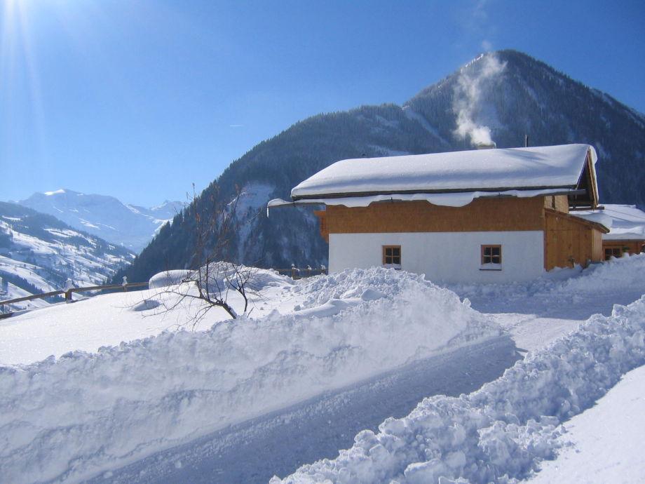 Blick von der Hütte Richtung  Hohe Tauern