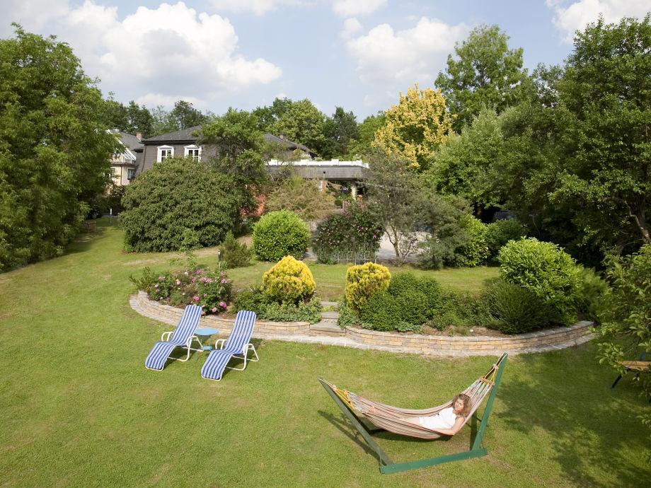 Gartenansicht Haus Anna Apartments