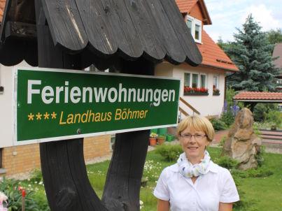 Ihr Gastgeber Friederike Böhmer