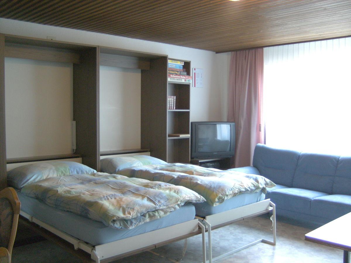 wohnzimmer küche offen:Schrankbetten offen Wohnzimmer mit Küche Wohn-Küche
