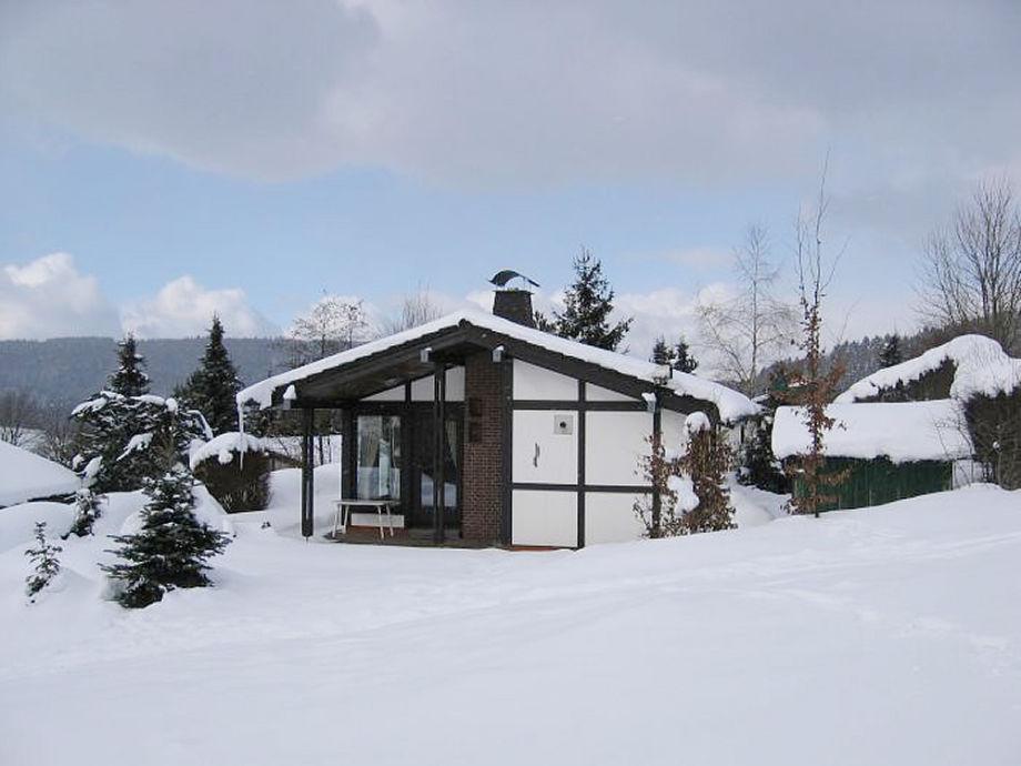 Ferienhaus Marina im Winter