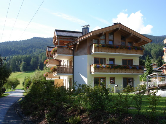 Luxus Ski-in Ski-out Apartment in Leogang