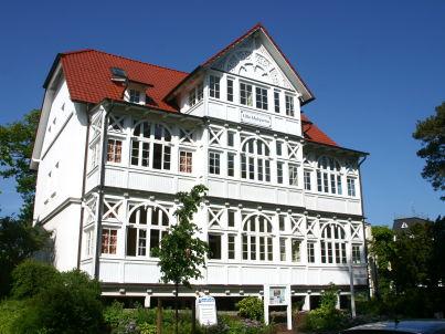 Kormoran in der Villa Malepartus Binz