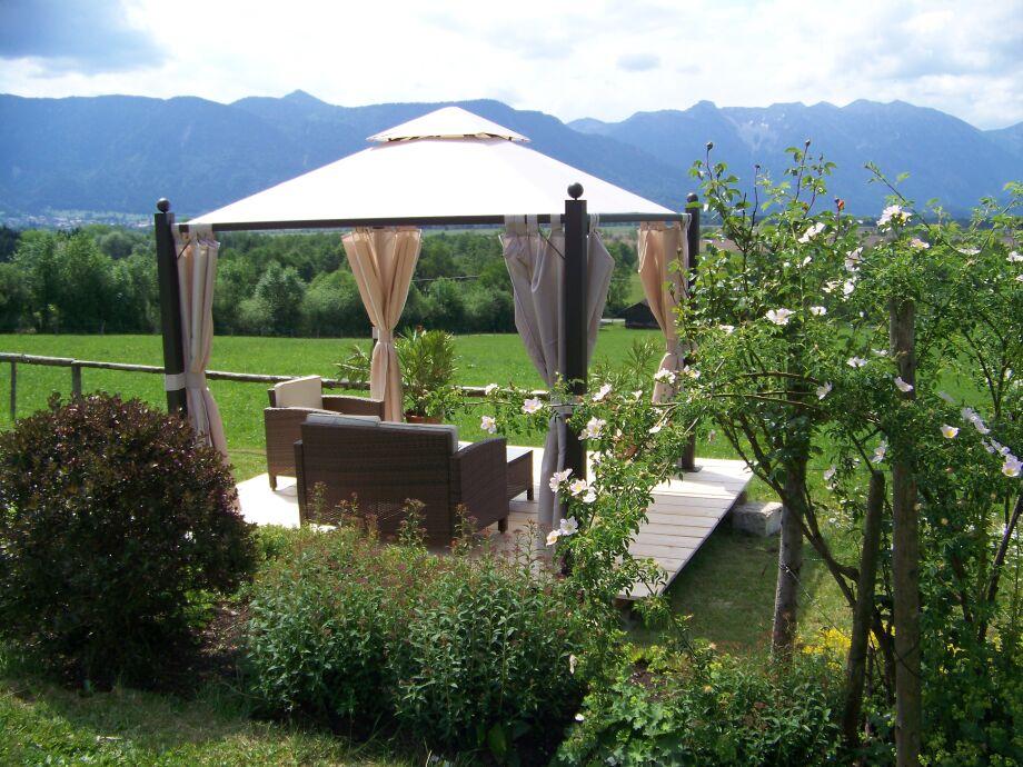 Gartenpavillon für die Gäste
