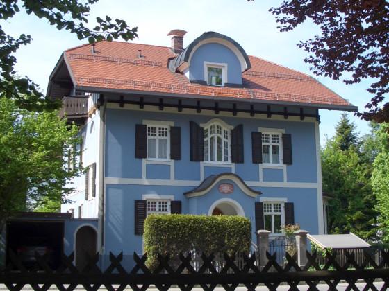 Ferienwohnung im Blauen Haus Oberbayern Garmisch