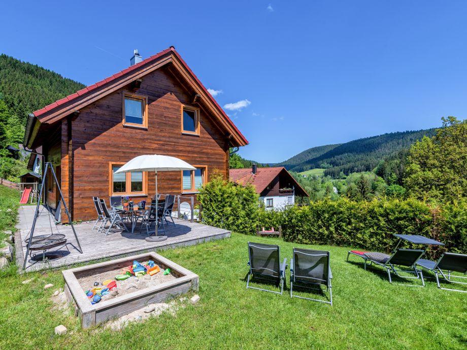 Ferienhaus Terrasse - Schwarzwaldblick