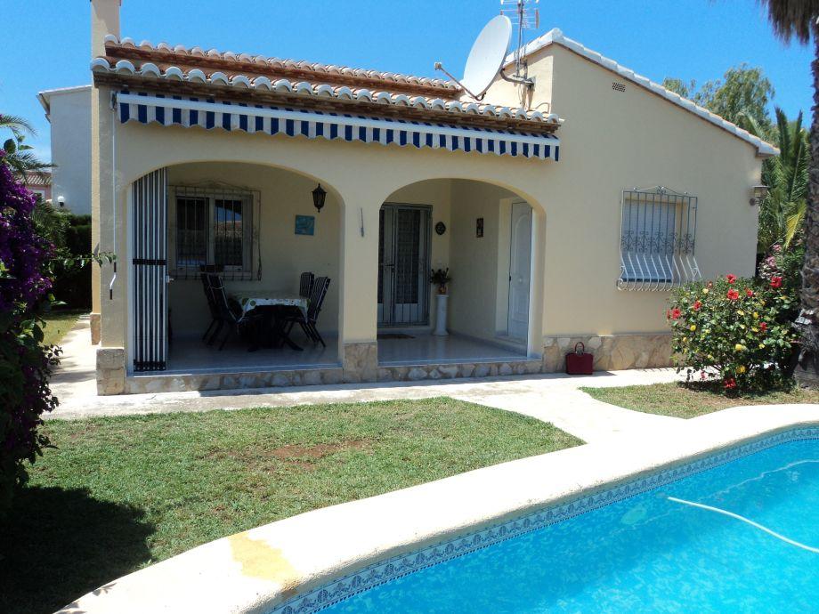 Außenaufnahme Denia Els Poblets Costa Blanca, Pool