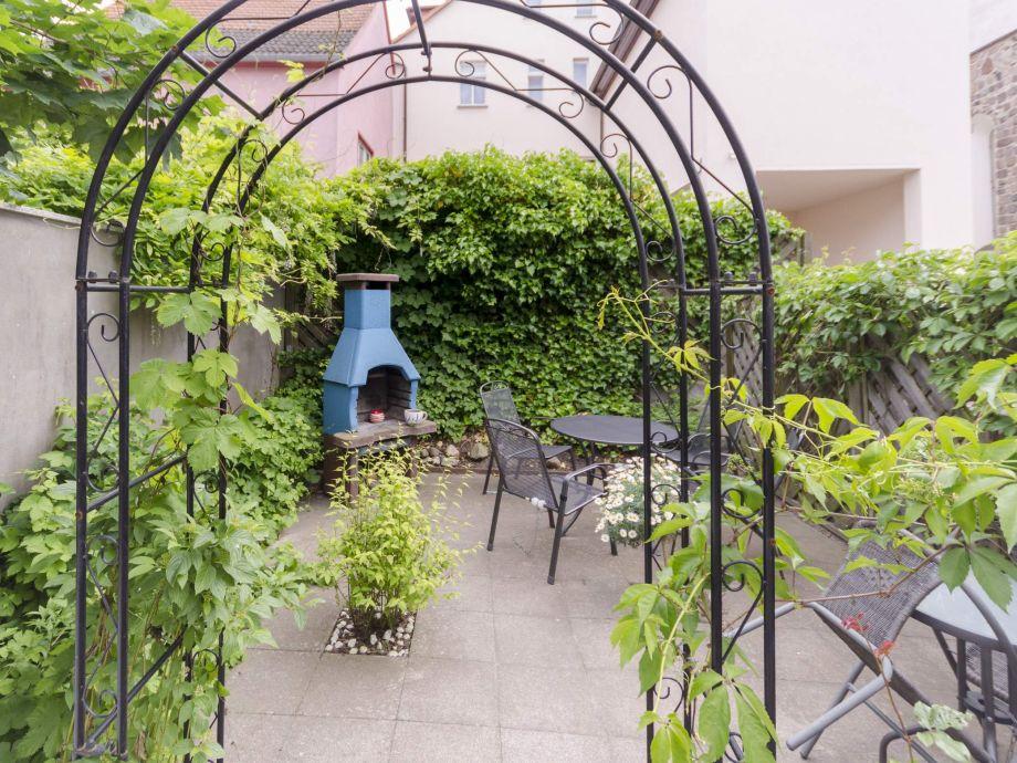 Garten mit Sitzplatz