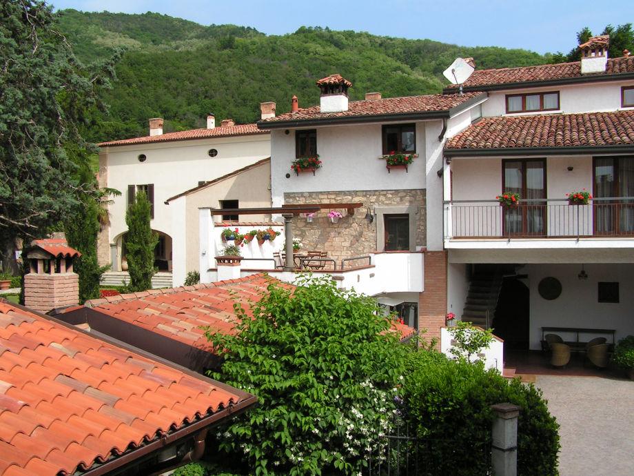 Außenaufnahme La Badia Franciacorta - Iseosee