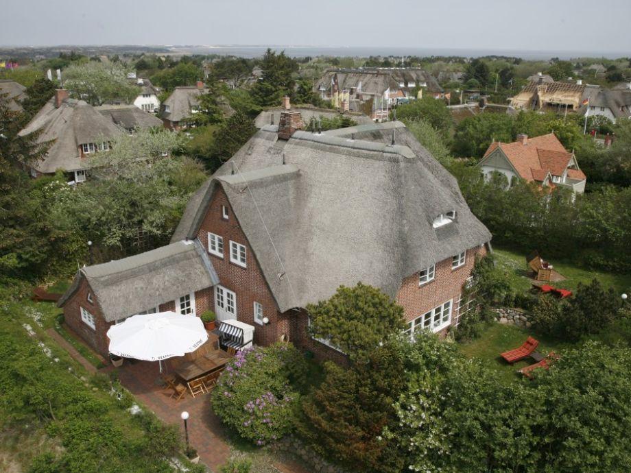 Luftbild des Ferienhauses Stephanie