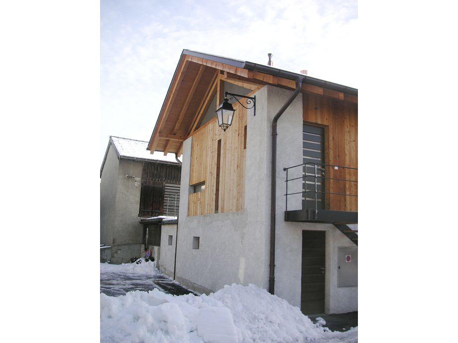 "Unser Haus im Winter: ""La Grange"""