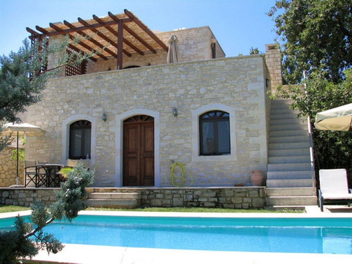 ferienhaus villa sifina mit gro em pool nordkreta mittelmeer herr josef beibl. Black Bedroom Furniture Sets. Home Design Ideas