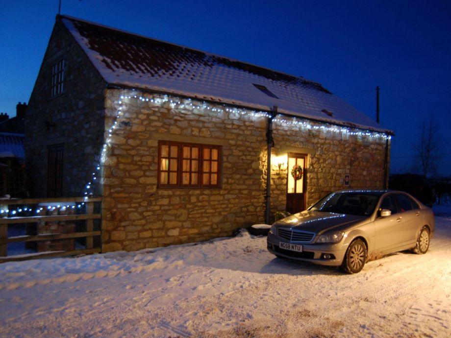 Deepwell Cottages im Winter