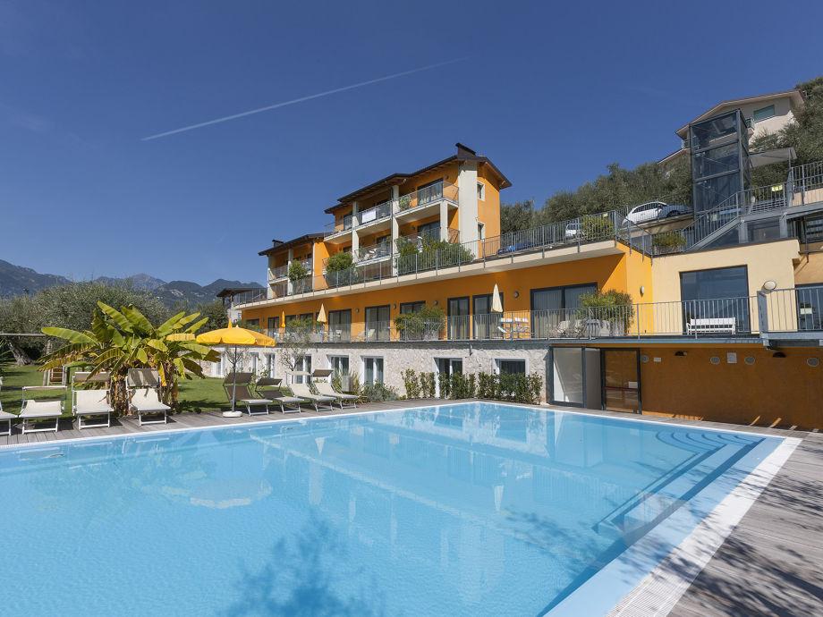 Außenaufnahme Zwei Zimmer Ferienwohnung am Gardasee