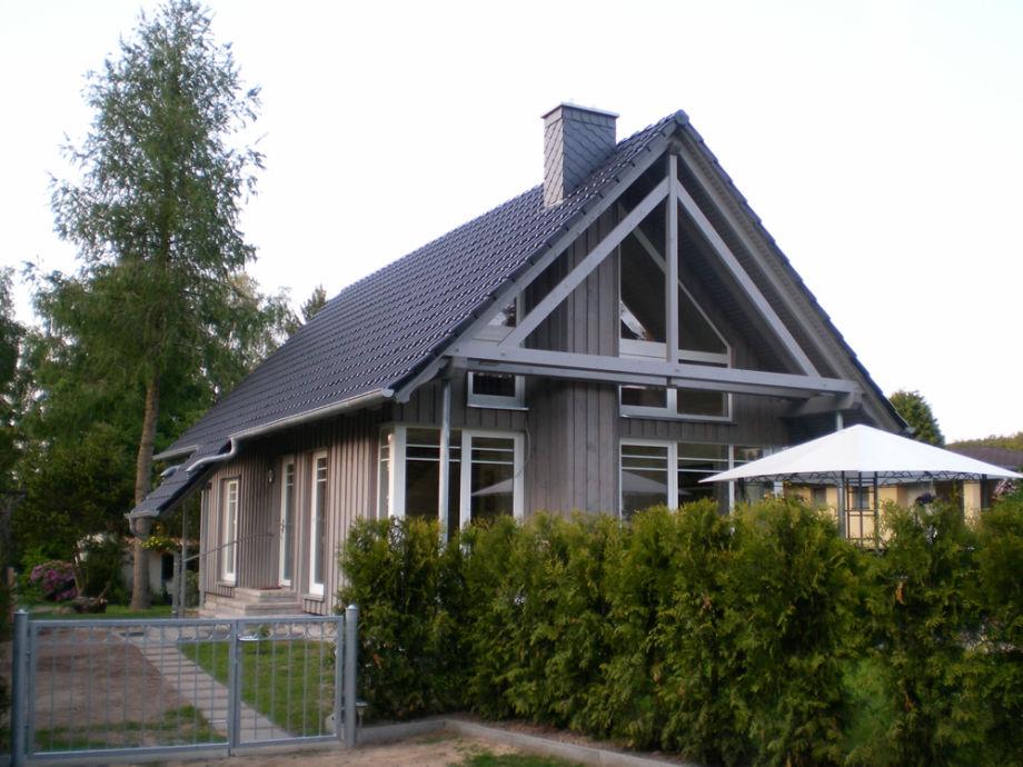 Südansicht des Hauses