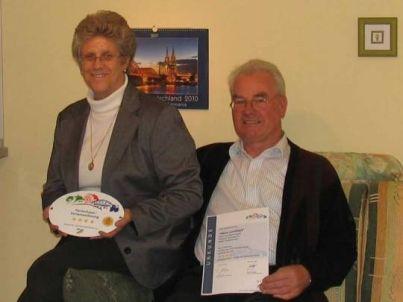 Ihr Gastgeber Heinz und Maria Engels