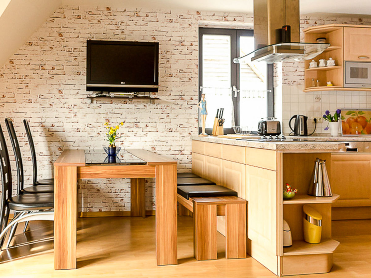 ferienwohnung storchennest waren m ritz familie g rtler. Black Bedroom Furniture Sets. Home Design Ideas