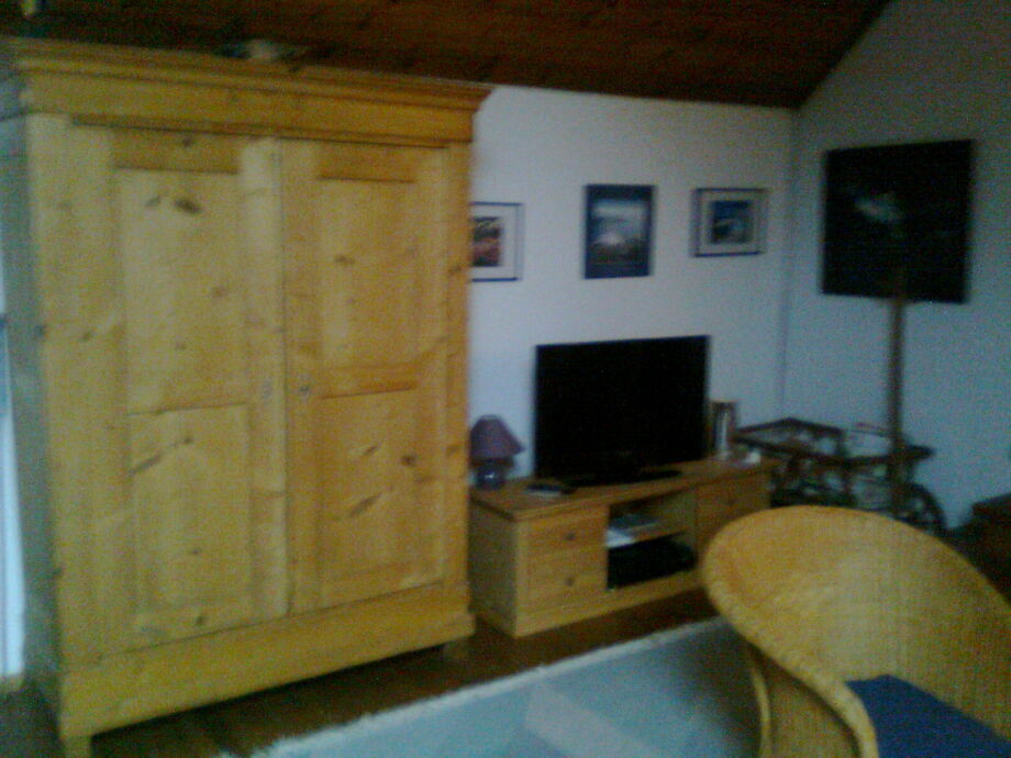 Fernsehecke im Wohnraum