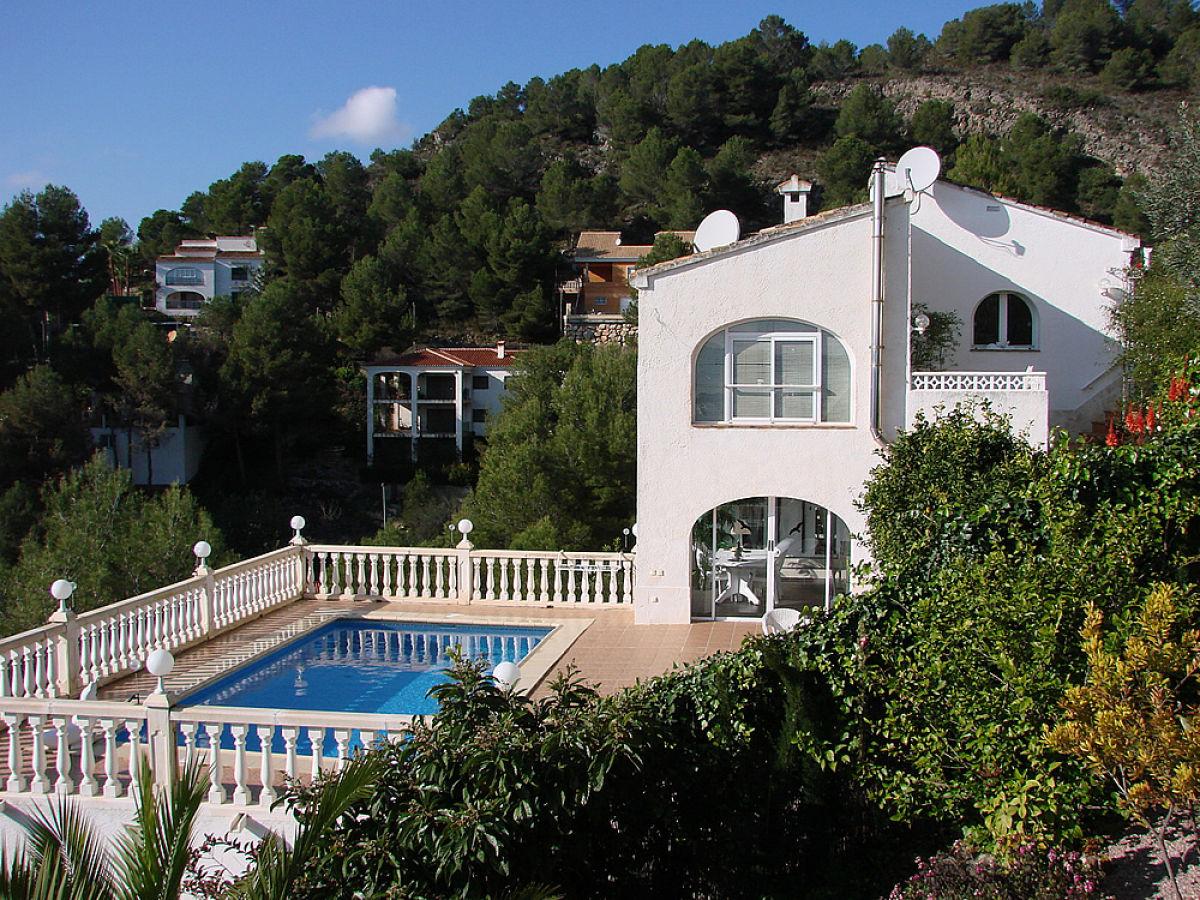 Ferienwohnung valencia in der villa gandia hills costa de for Villas valencia