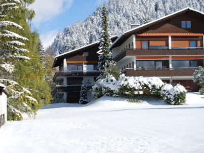 Alpenblick im Berghaus Tirol in Seefeld