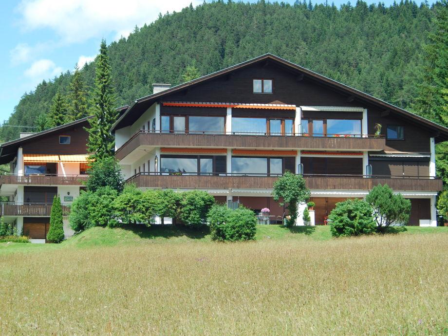 Aussenansicht Berghaus Tirol
