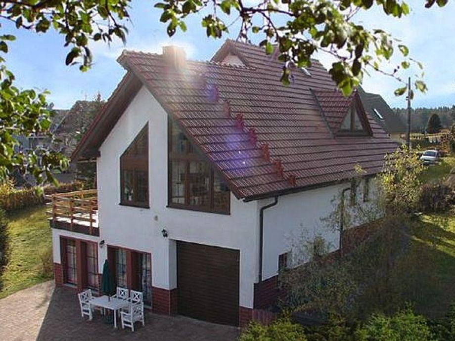 Außenansicht - Ferienwohnung Klassik - Villa Eckardt
