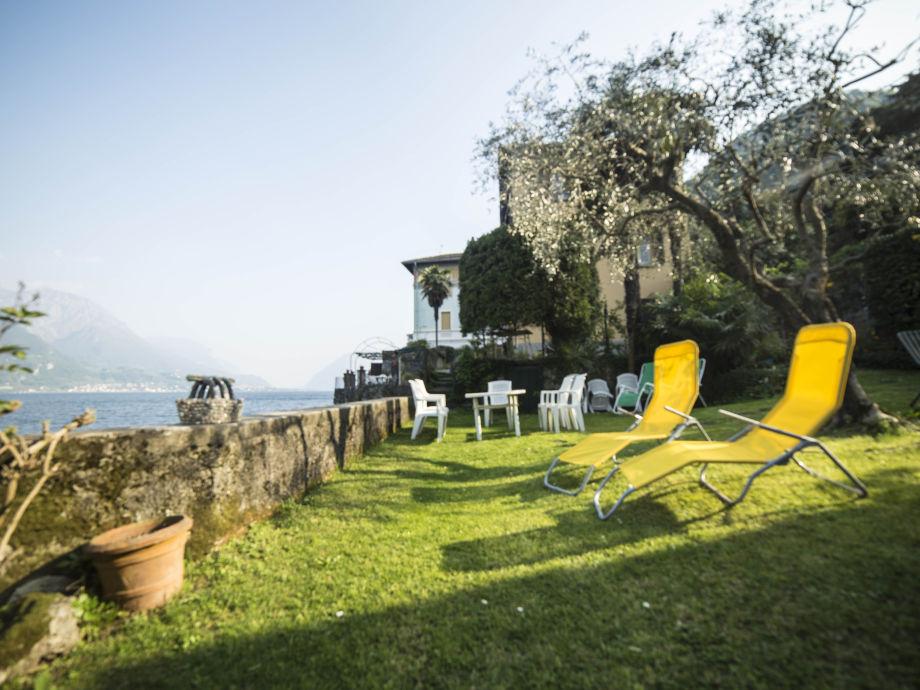Der Garten der Ferienwohnung