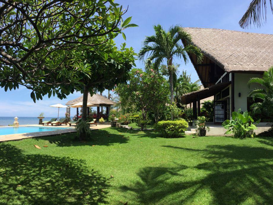 Tropischen Garten und privatem Pool am Meer