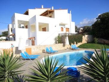 Ferienhaus Exclusive Villa mit Pool Rethymno Russospiti