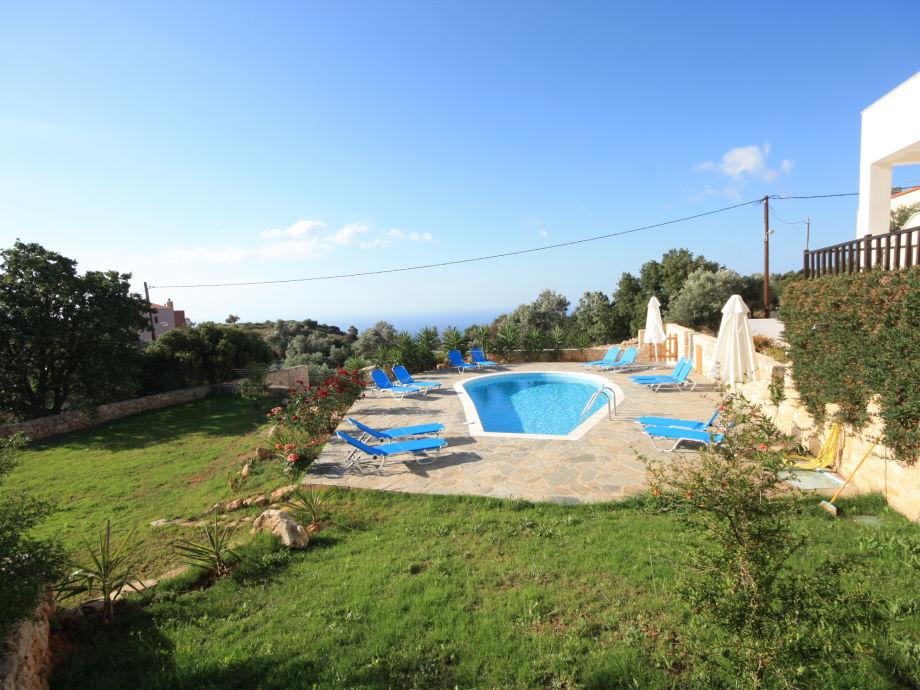 Außenaufnahme Exclusive Villa with Pool Rethymno Russospiti