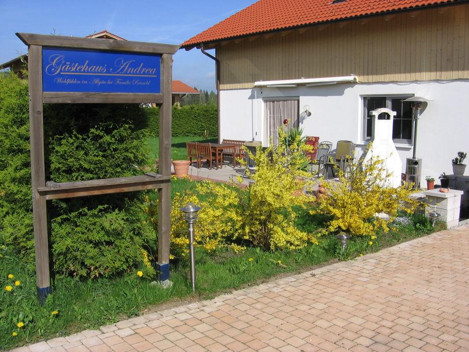 Willkommen im Gästehaus Andrea Hopferau