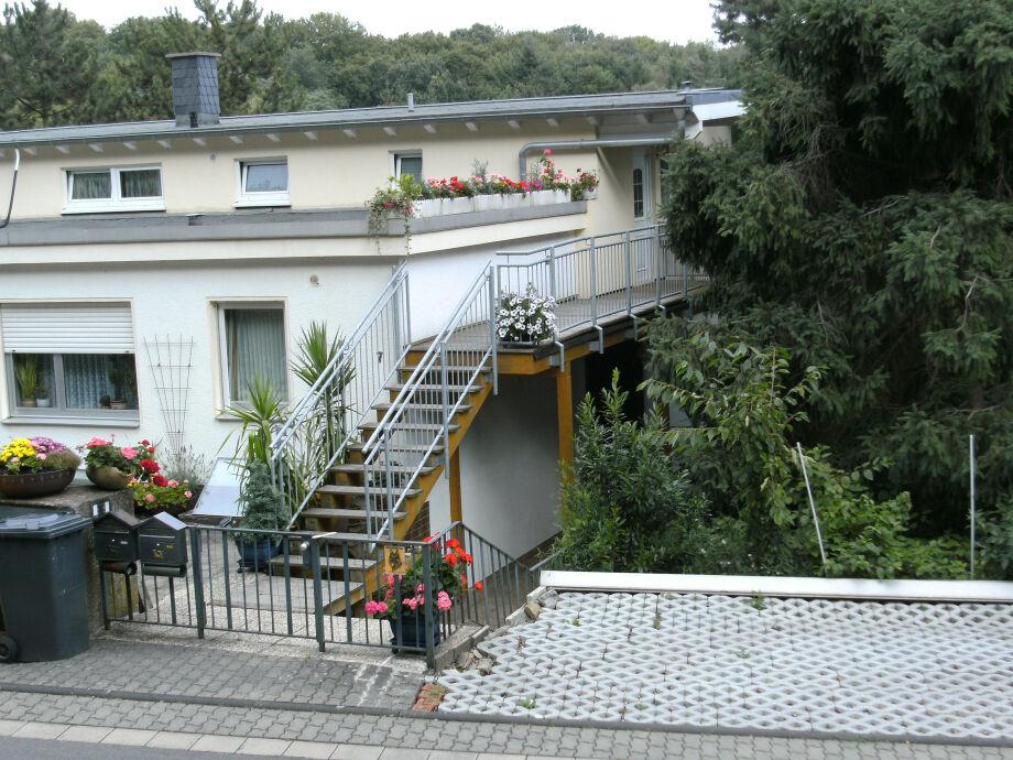 Das Haus mit Ferienwohnung - Zugang