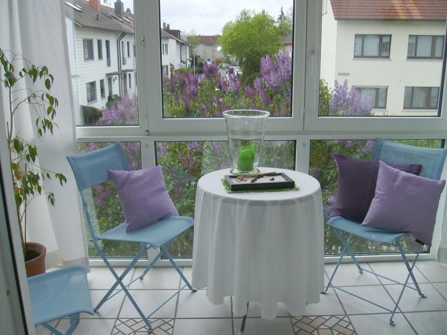 Wintergarten am Wohnzimmer