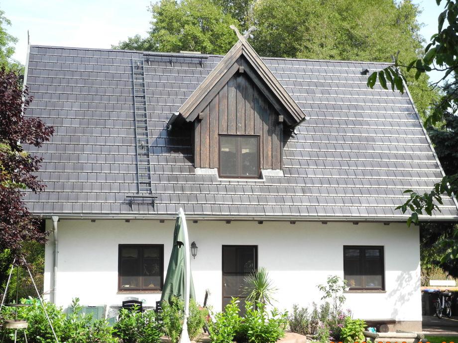 Gartenseite Ferienhaus