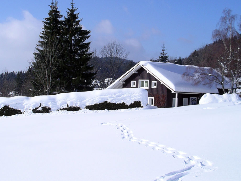 Luckihaus im Winter