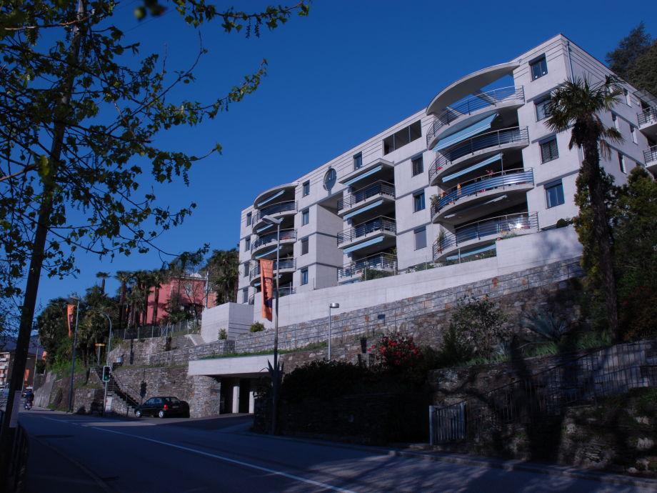 Designer ferienwohnung mit 180 panoramablick auf see und for Ecksofa 45 grad