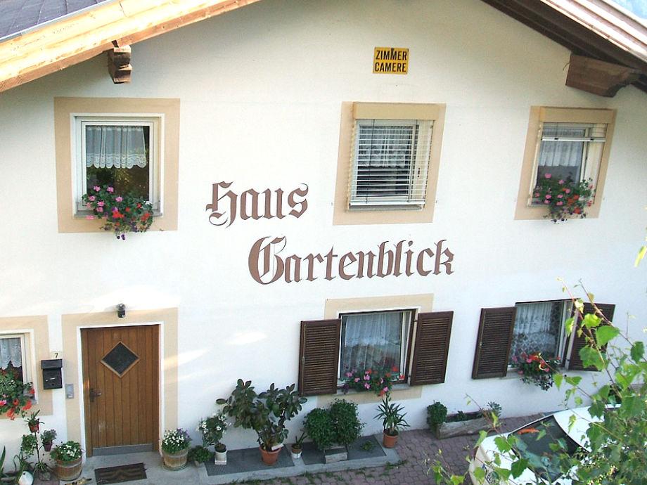 Ferienwohnung Ferienhaus Gartenblick