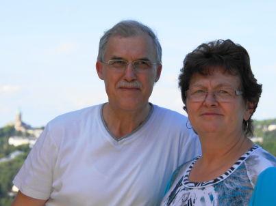 Ihr Gastgeber Wolfgang und Petra Hartmann