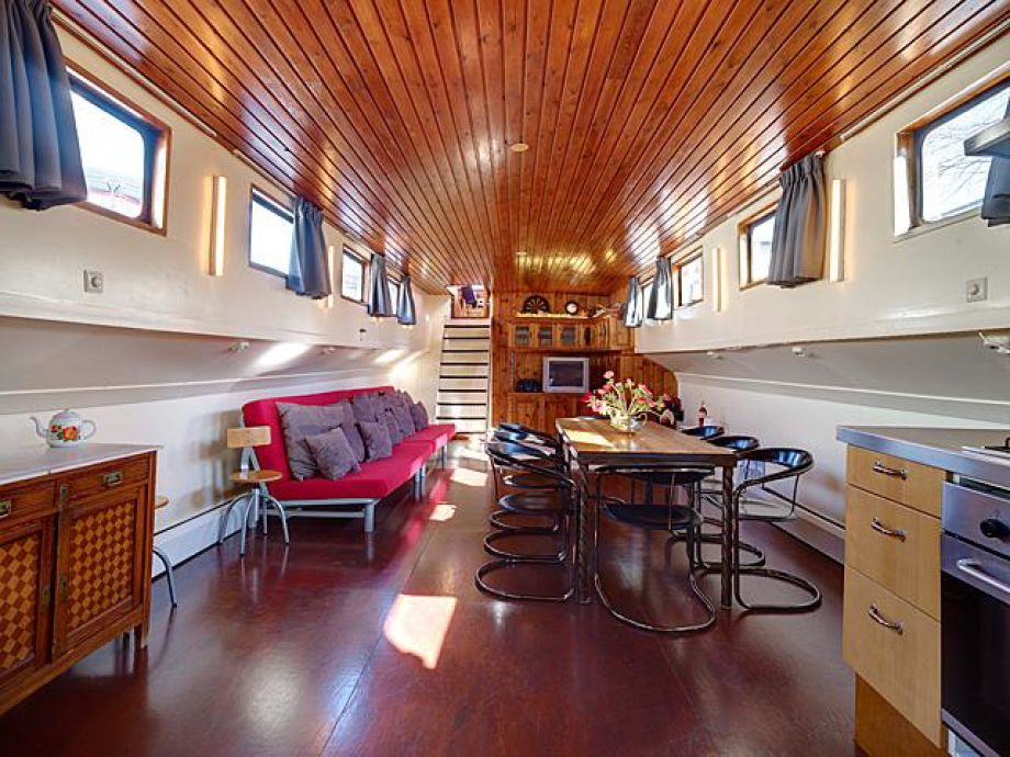 hausboot moon houseboat amsterdam top center firma my. Black Bedroom Furniture Sets. Home Design Ideas